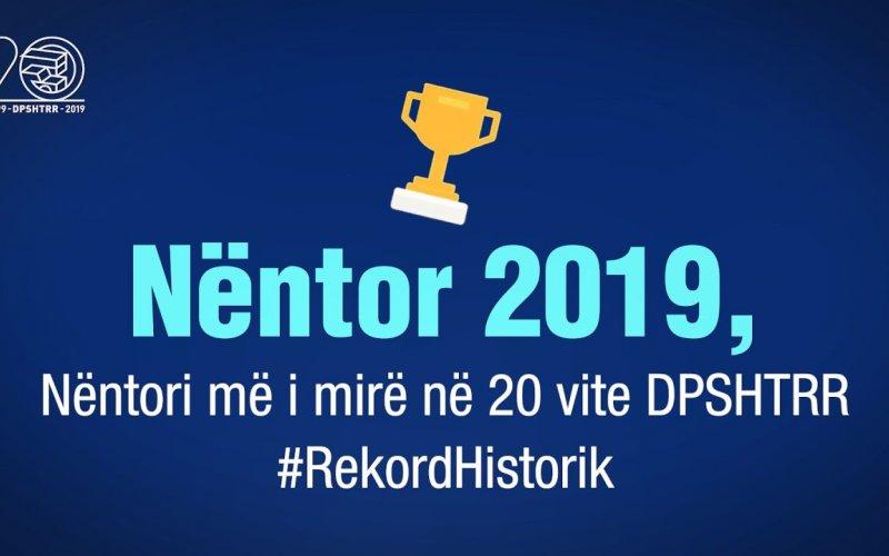 Raporti Janar-Nëntor 2019 DPSHTRR!