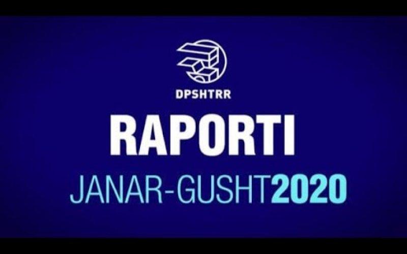 Raporti Janar-Gusht 2020!