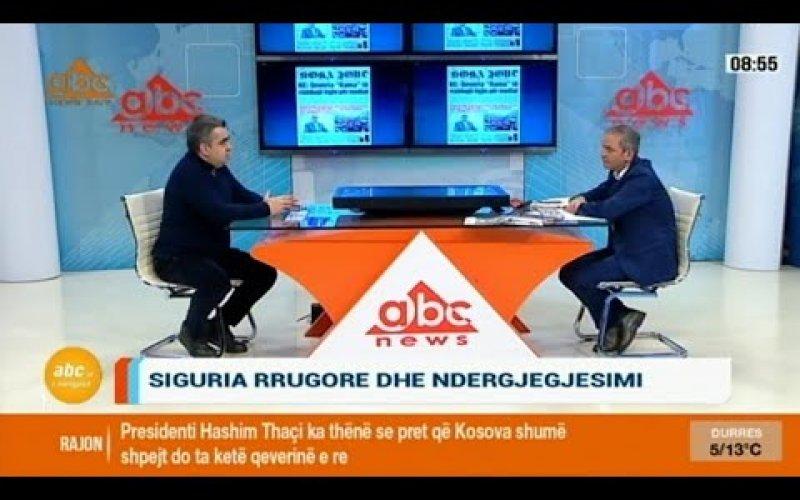 Intervista - Drejtori i Përgjithshëm i DPSHTRR, Z. Blendi Gonxhja në Abc News